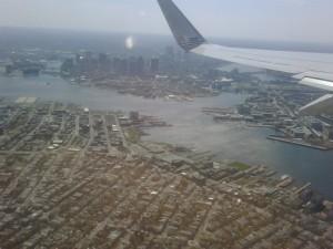 Flying High over Boston
