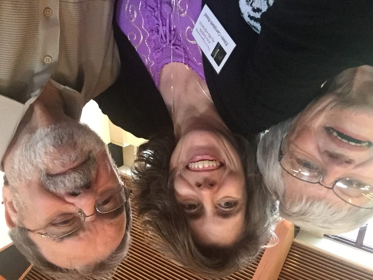 Meeting up with Carolyn and Bill Blevins at the National Association of Baptist Professors of Religion and Baptist History & Heritage Society meeting