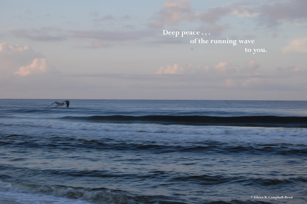 deep peace of the running wave
