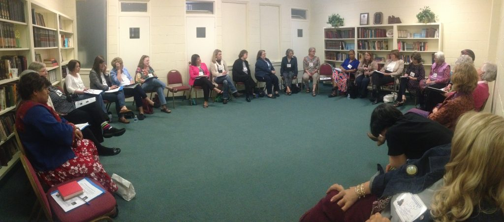 "Conversation: ""Leading Women: How Women Are Changing the Church""  PHOTO by Alyssa Aldape"