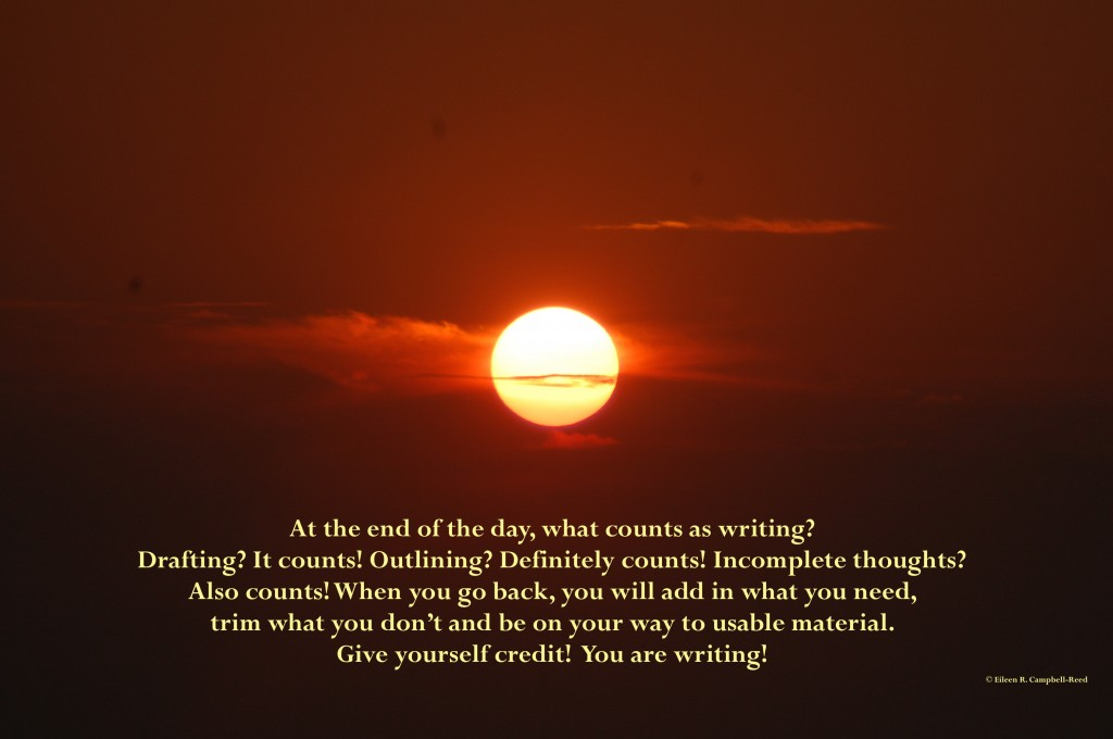 What Counts As Writing?
